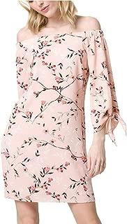 LE CHÂTEAU Floral Off-The-Shoulder Summer Dress