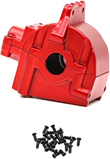 Binchil Metal Wave Box Gear Box Shell Cover Differential Housing 144001-1254 for Wltoys 144001 1/14 RC قطعات خودرو ، قرمز 1 عدد