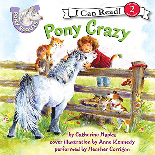 Pony Scouts: Pony Crazy audiobook cover art