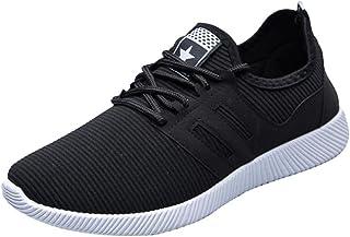 cb57334d Zapatillas Deporte Hombre❤️ZARLLE Zapatos para Hombres Casual Zapatos De  Gimnasio Cruz Atado De Zapatos