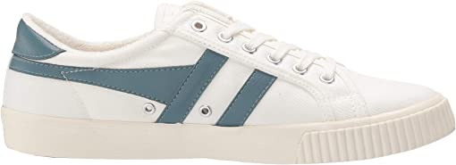 Off-White/Indian Teal