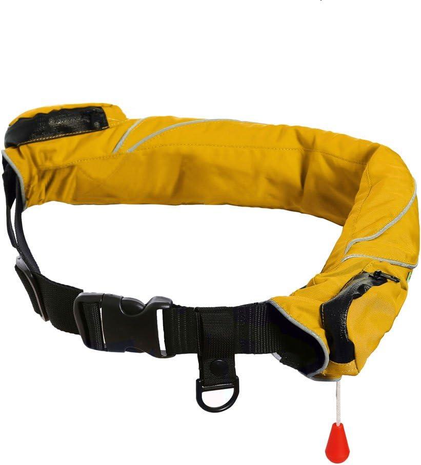 Eyson Inflatable Life Jacket Life Vest Life Ring Belt Pack Waist Bag Automatic