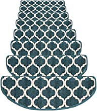 JIAJUAN Stair Carpet Treads Skid Resistant Mute Large Stair Pads Step Rug Home, 3 Colors, 4 Sizes, Customize (Color : Blue...