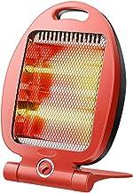 XYW-0007 Calefactor Eléctrica Calefactor Tubo de Cuarzo Calefacción eléctrica Protección de Seguridad Ahorro de energía Botón Giratorio de Escritorio Oficina en casa Silent Mini 600W