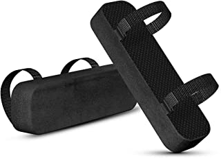 Yasolote Chair Armrest Pads,2 Pack Padded Armrest Cushion Pads with Memory Foam Elbow Pillow for Forearm Pressure Relief,A...