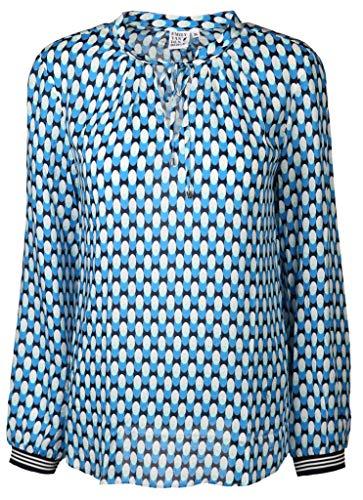 Emily van den Bergh Damen Bluse Größe S Blau (blau)