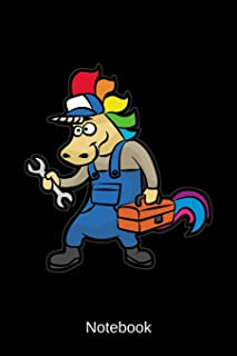 Notebook: Craftsman Unicorn