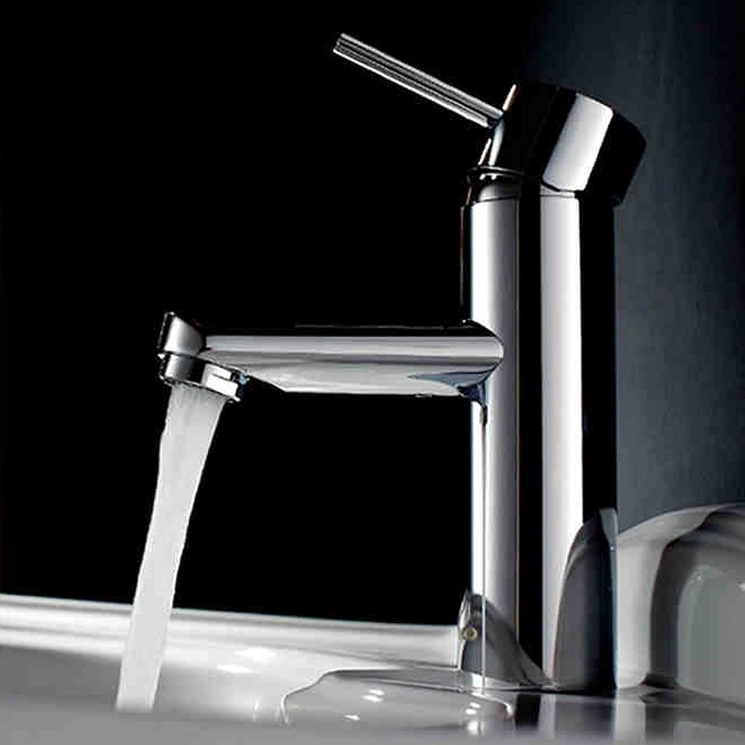 All Copper Hot And Cold Basin Water Tap Bathroom Taipen Faucet Bathroom Counter Wash Basin Basin Faucet