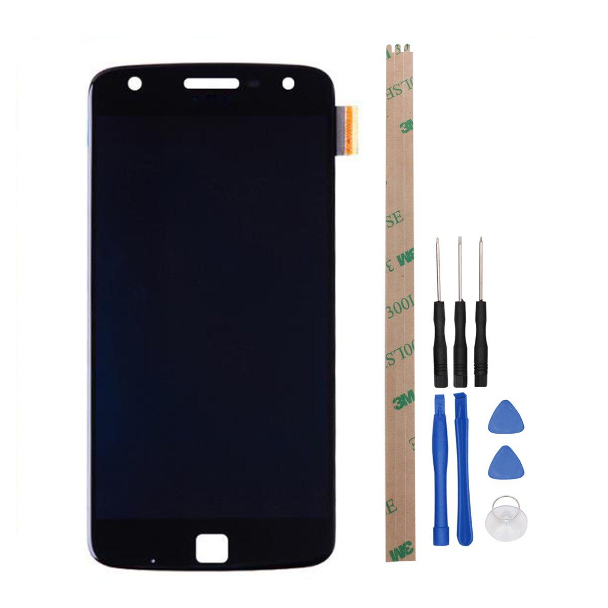 hyyt Reparación y reemplazo LCD Display + pantalla táctil digitalizador para Motorola Moto Z Play con libre Herramientas: Amazon.es: Electrónica