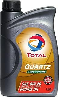 TOTAL 185645-12PK Quartz 9000 Future 0W-20 Engine Oil - 1 Quart (Pack of 12)