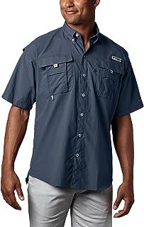 Men's PFG Bahama II UPF 30 Short Sleeve Fishing Shirt