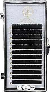 Lash Collection (ラッシュコレクション) シングルラッシュ 選べる 長さ カール [ セーブル / 0.15mm ] マツエク セルフ キット Cカール 12mm
