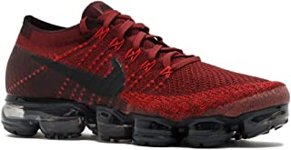 Nike Men's Air VaporMax Flyknit Running Shoe (Sz. 11) Dark Team Red