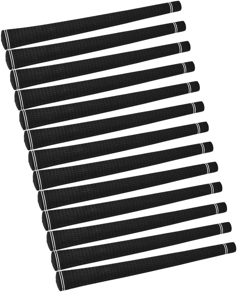 TANKE quality assurance Club Grip Set - 13Pcs New York Mall H Rubber Soft Durable Golf