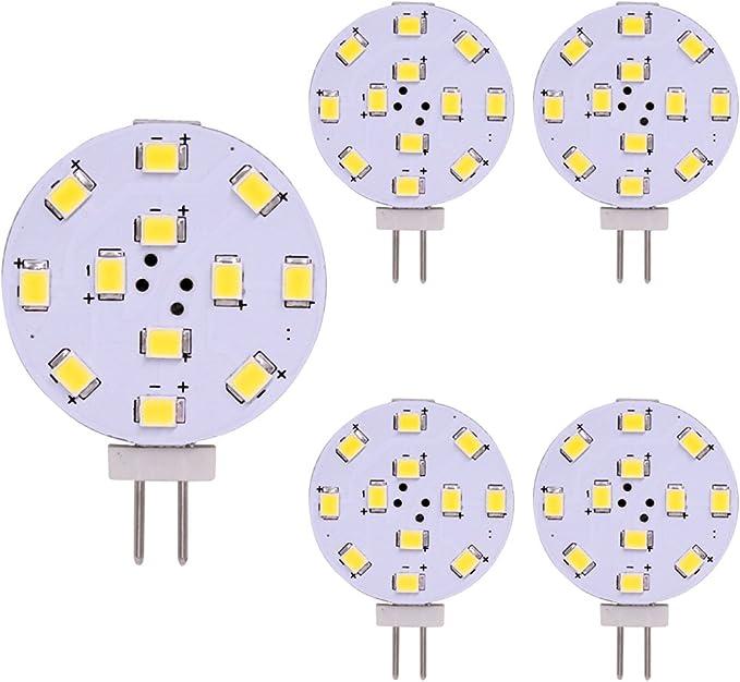 203 opinioni per Lampadina LED G4, Equivalente da 35 Watt, Disco LED Bi-Pin, Pin laterale JC,