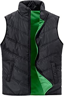 SUNDAY ROSE Women Quilted Puffer Vest Outdoor Padded Sleeveless Jacket Gilet