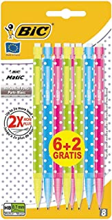 BiC Matic Dotty Mechanical Pencils (Value Pack of 6, Plus 2 Free)