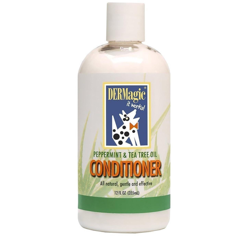所得お風呂粘性のDERMagic Peppermint & Tea Tree Oil Conditioner 12 fl. oz. by DERMagic