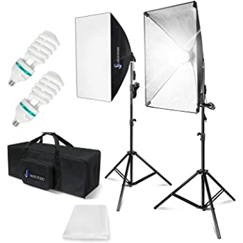 ePhoto Video Studio Photography Lighting kit softbox light kit video lighting kit CASE H9004S