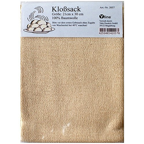 1 Stück Kloßsack - Kloßbeutel 100% Baumwolle, Kloß Kloßmasse Sack Beutel, sl, 2057