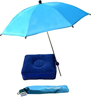 Outdoor Matters FaceShade, Personal Mini Beach Umbrellas, UPF 50+, Personal Shades