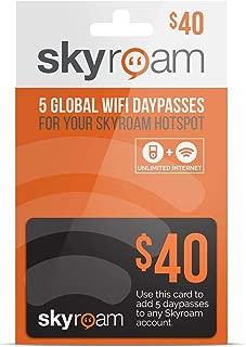 海外用 Skyroam SOLIS 高速4G/LTE WiFi Daypass グローバル プリペイドカード 5日間 定額オンデマンド型データ通信プラン【正規代理店品】