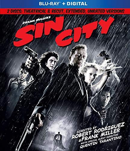 Frank Miller's Sin City (Blu-ray + Digital)
