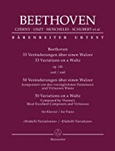 Beethoven: 33 Variations On A Waltz Op. 120 / 50 Variations On A Waltz Composed By Vienna's Most Excellent Composers And V...