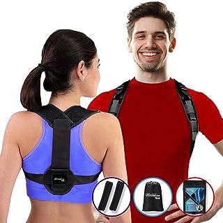 Active Jungle: Corrector de Postura Negro Auto-Ajuste Frontal Patentado  Kit Unitalla Para Hombres, Mujeres, Adultos y Ado...