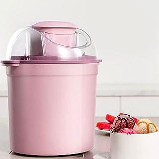Glassmakare 800ML Frukt Sorbetmaskin med stor kapacitet Hushålls DIY Fryst yoghurt Dessertmaskin En nyckeloperation
