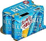 【新ジャンル/第3のビール】超スッキリ・サントリーブルー [ ビール 350ml × 6本 ]
