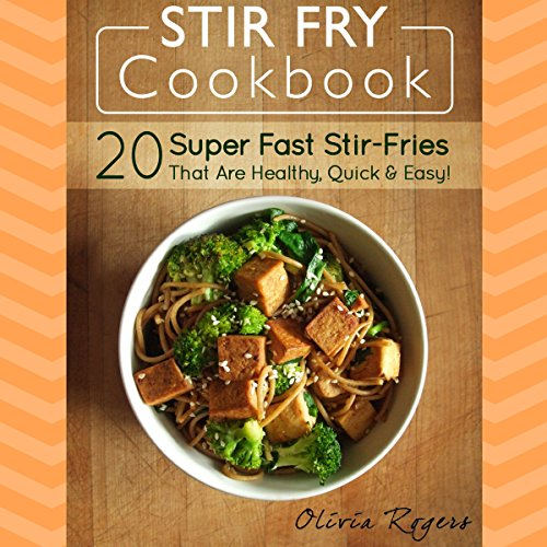 Stir Fry Cookbook audiobook cover art