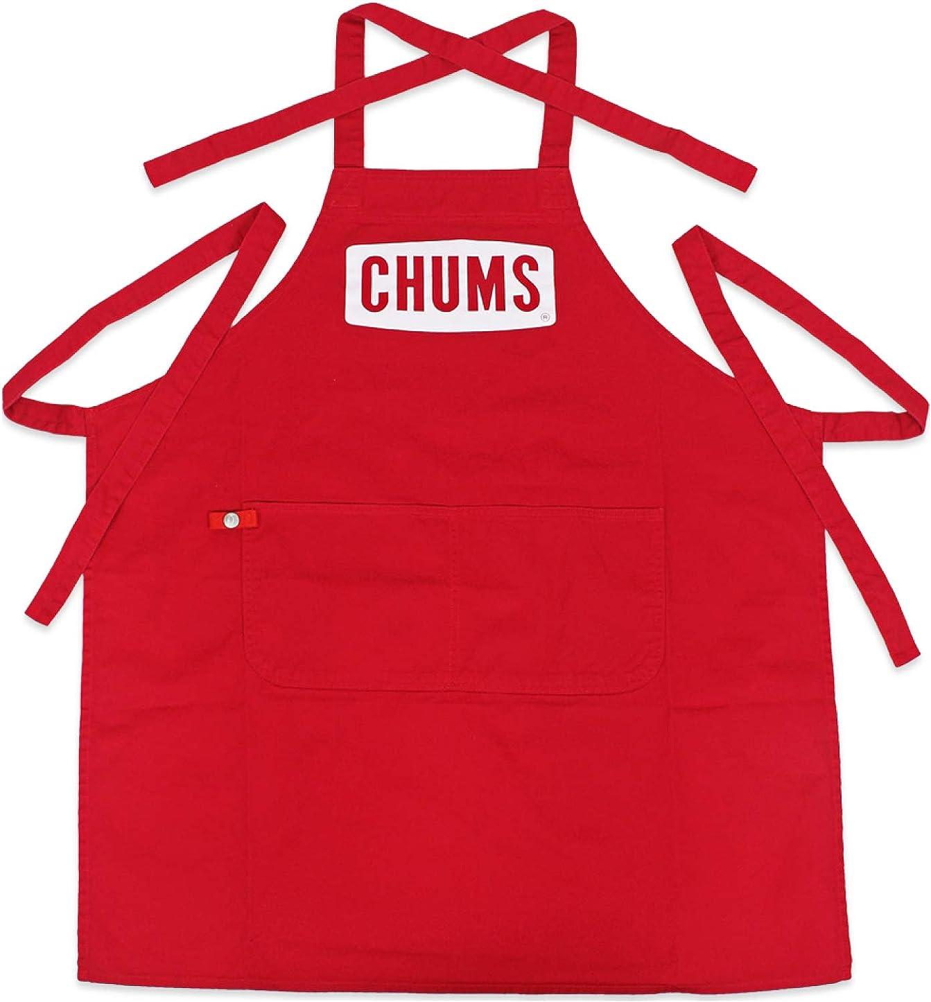 拾う拍手混雑(チャムス) CHUMS ボートロゴ エプロン CH09-1140