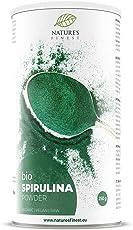 Nature's Finest Spirulina La ricchezza verde della natura per 60 giorni – DETOX espirulina ecológica y orgánica - superalimento puro | Alto contenido en proteínas y hierro | Vegetariano y vegano