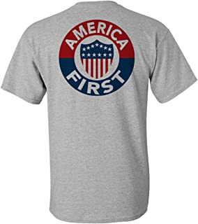America First T-Shirt - Grey - XL