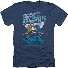 Scott Pilgrim Vs The World Comedy Movie Lovers Adult Heather T-Shirt Tee