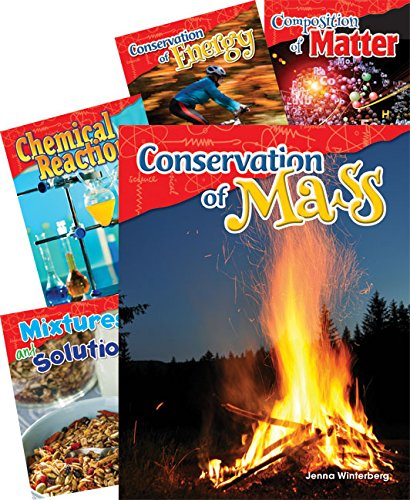 Teacher Created Materials - Science Readers: Content and Literacy: Physical Science - 5 Book Set - Grade 5 - Guided Reading Level R - T