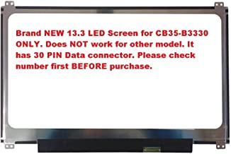 13.3 Replacement LED Screen for Toshiba Chromebook CB35-B3330
