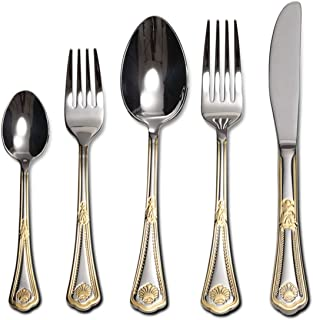 24 karat gold plated flatware