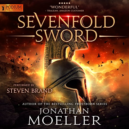 Sevenfold Sword audiobook cover art