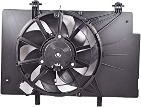 labwork 7 Blade Radiator Cooling Fan Assembly Fit for Ford Fiesta BE8Z8C607B FO3115186