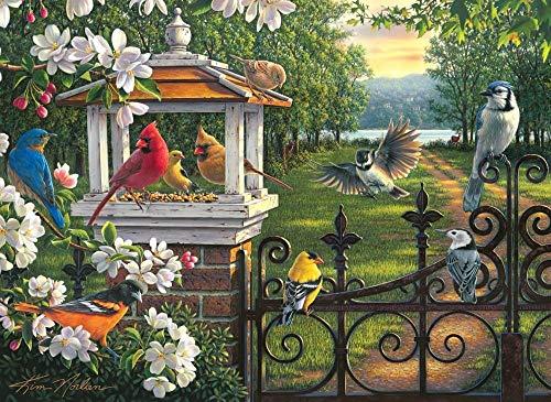 Zyysyzsh Puzzels 500 Stukjes Volwassen Houten Puzzels Classic Puzzel Vrije Tijd Creatieve Spelletjes,Gekleurde Vogel