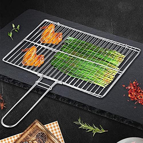 61DPjIqFnFS. SL500  - Z-Special Grillkorb, Fischgrillkorb Grillwerkzeug-Sets Kebab-Grillkorb | Grillzubehör aus Edelstahl Grillzubehör Grillgeräte