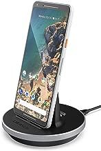 Encased Google Pixel 3a / Pixel 3a XL Charger Stand (USB Type C) Desktop Charging Dock (Heights Adjustable Station Mount) Black