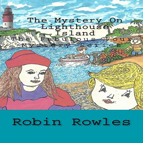 The Mystery on Lighthouse Island audiobook cover art