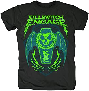 Killswitch Engage - Ataúd Wings - Camiseta Oficial Hombre