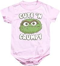 Sesame Street Classic TV Show Oscar Cute 'N Grumpy Infant Romper Snapsuit