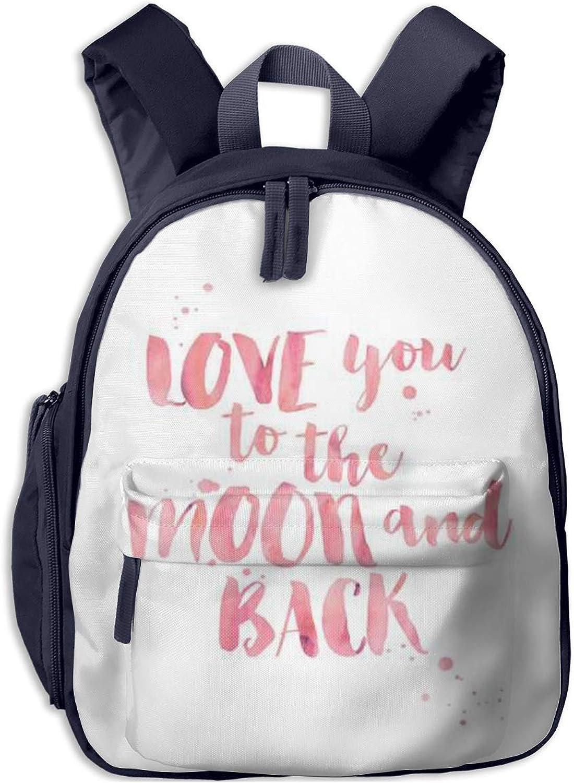 School Backpack for Girls Boys, Kids Cute Love You Cartoon Backpacks Book Bag B07LGZHLDL  Charakteristisch