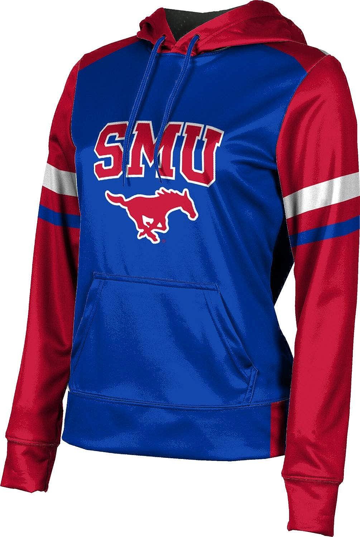 ProSphere Southern Methodist University Girls' Pullover Hoodie, School Spirit Sweatshirt (Old School)