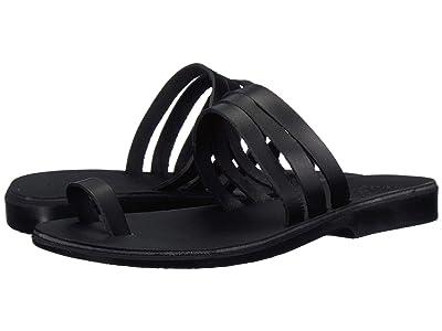 Jerusalem Sandals Angela (Black) Women